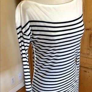 EUC Rag & Bone Striped Long Sleeve Top Size L